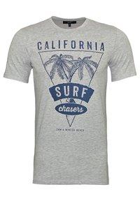 Harvey Miller Polo Club - Print T-shirt - grau - 0