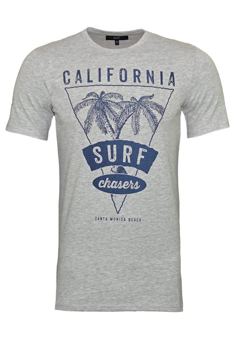 Harvey Miller Polo Club - Print T-shirt - grau
