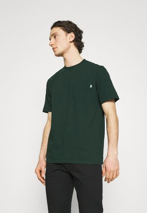 BOBBY POCKET  - Basic T-shirt - dark green