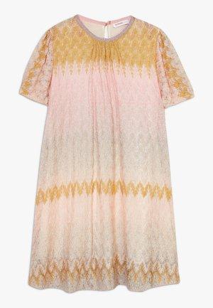 DRESS - Pletené šaty - multicoloured