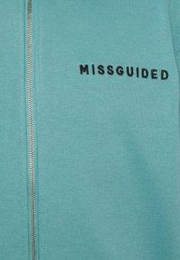 Missguided Petite - HOODIE AND JOGGER SET - Zip-up sweatshirt - blue - 7