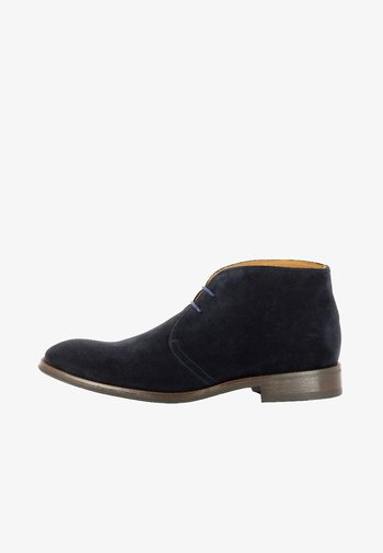 STEFANO - Lace-up ankle boots - dark blue