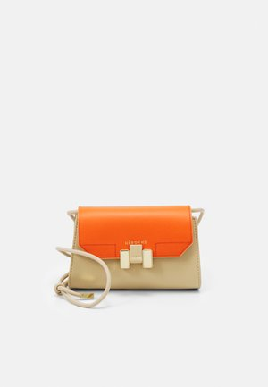 LILIA NANO - Across body bag - oyster/mandarine