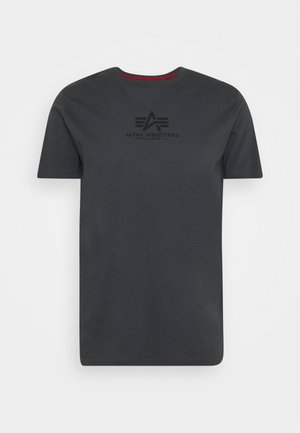 T-shirt con stampa - greyblack