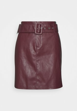 ONLJESSIE SKIRT - Gonna a campana - fired brick