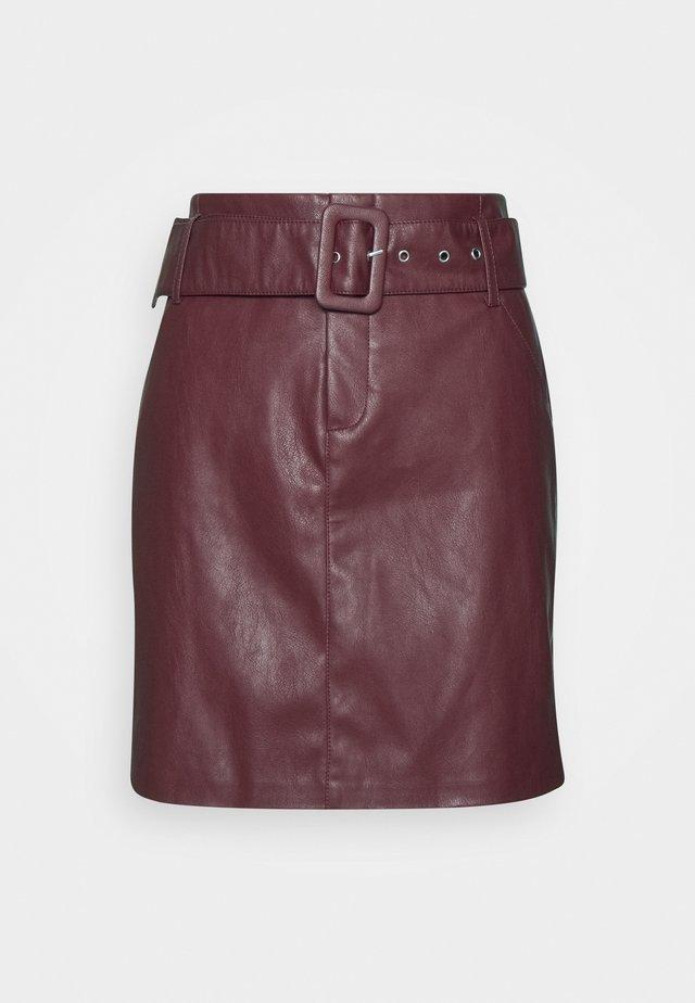 ONLJESSIE SKIRT - A-line skirt - fired brick