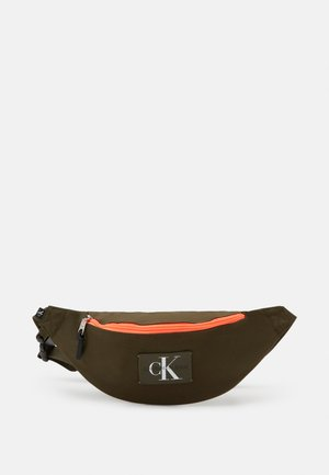 WAISTBAG - Ledvinka - olive night