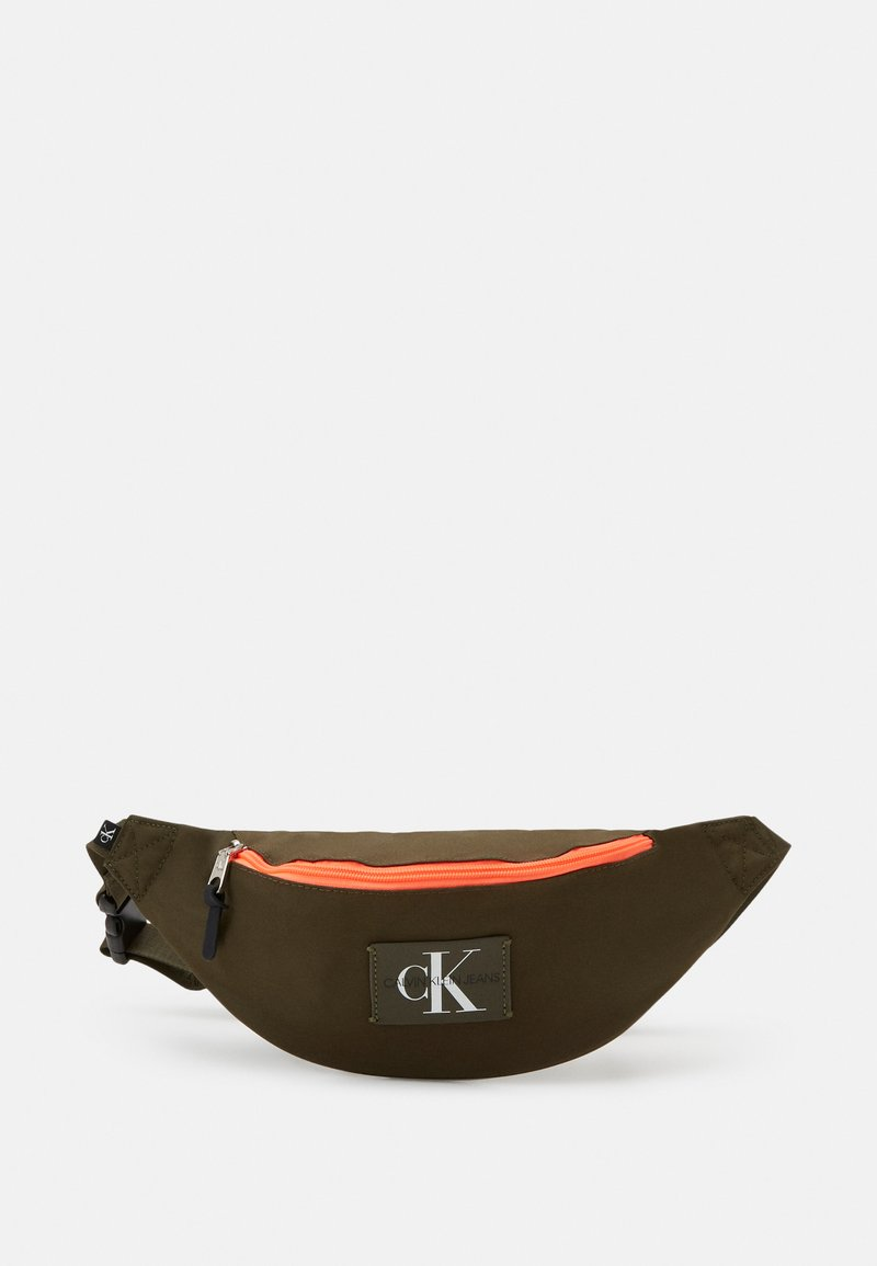 Calvin Klein Jeans - WAISTBAG - Bum bag - olive night