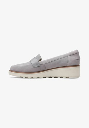 SHARON GRACIE - Mocassins - grey