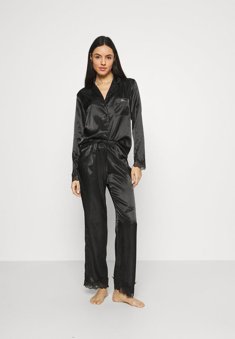 Boux Avenue - DARCIE REVERE PANT SET - Pyjamas - black