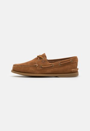 2-EYE - Boat shoes - dark tan
