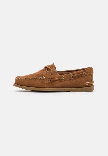 2-EYE - Boat shoes - dark tan