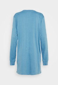 Missguided - OVERSIZED DRESS LS BUTTERFLY CAR - Jersey dress - blue - 1