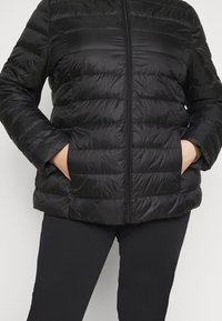 Even&Odd Curvy - Down jacket - black - 4