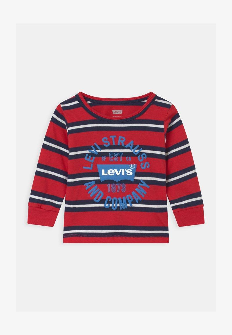 Levi's® - STRIPED - Maglietta a manica lunga - red