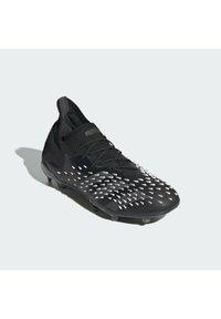 adidas Performance - PREDATOR FREAK .1 FG UNISEX - Korki Lanki - core black/grey four/ftwr white - 1