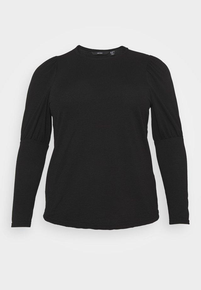 VMELYISA  - Long sleeved top - black