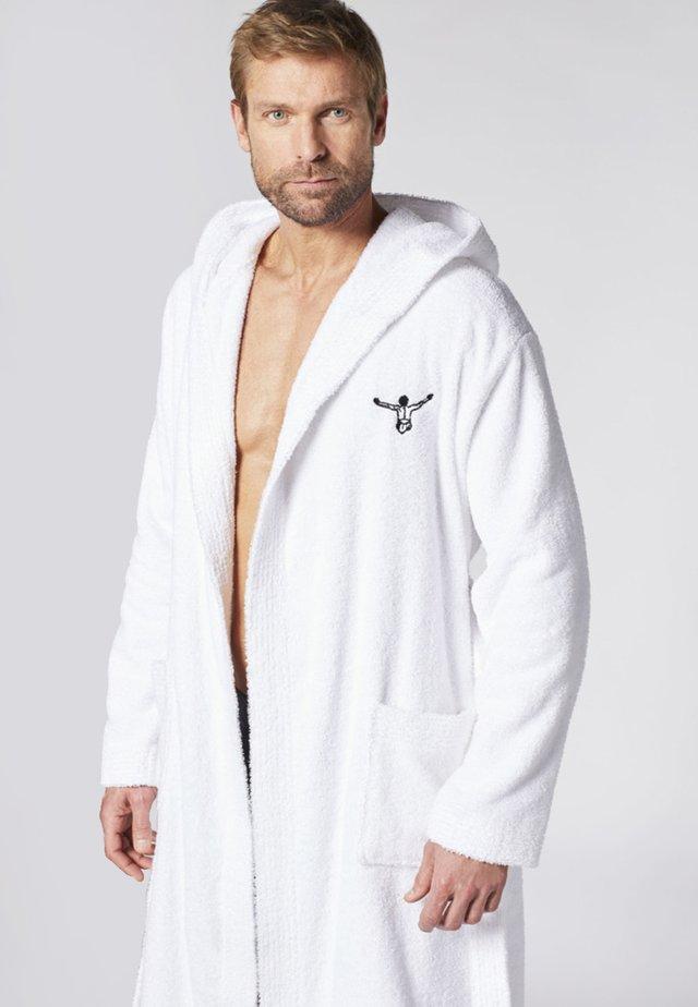 IN WEICHER QUALITÄT - Dressing gown - bright white