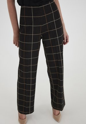 Trousers - black mix