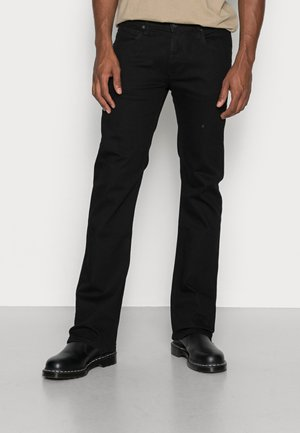 TRENTON - Straight leg jeans - black rinse