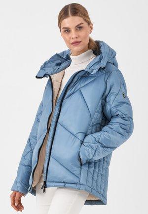VEGAN VIBES - Winter coat - aqua-creme