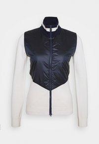 LUNA HYBRID - Zip-up sweatshirt - navy