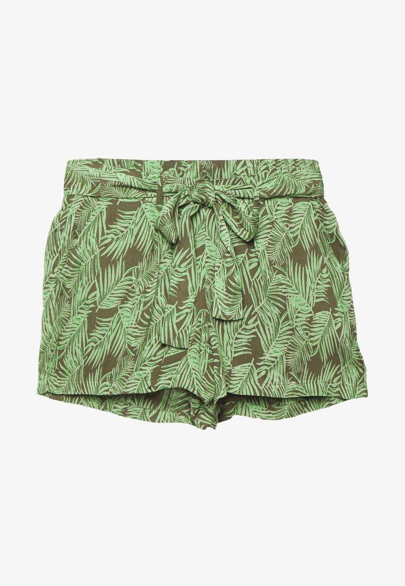 Noisy May Petite - NMFLORA - Shorts - kalamata/green ash