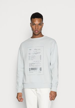 RECEIPT PRINT - Sweatshirt - green