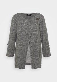 ONLY - ONLELLE CARDIGAN - Cardigan - medium grey melange - 4