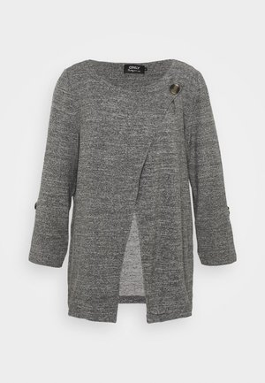 ONLELLE CARDIGAN - Cardigan - medium grey melange