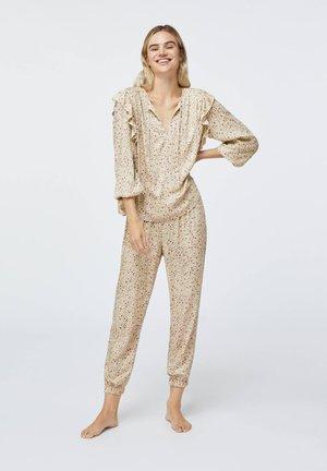 DITSY FLORAL - Pyjama bottoms - beige