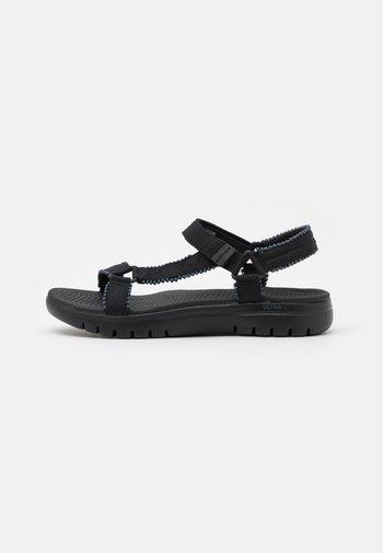 ON THE GO FLEX - Walking sandals - black