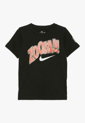 ZOOM TEE - Print T-shirt - black