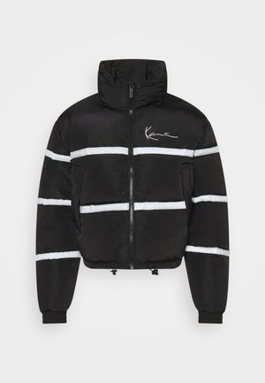 CHEST SIGNATURE SHORT PUFFERJACKET - Winterjas - black