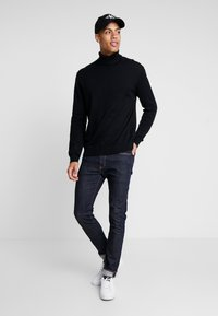 Esprit - ROLLNECK - Jumper - black - 1