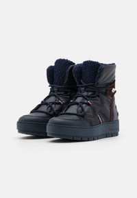 Tommy Hilfiger - Lace-up ankle boots - desert sky - 2
