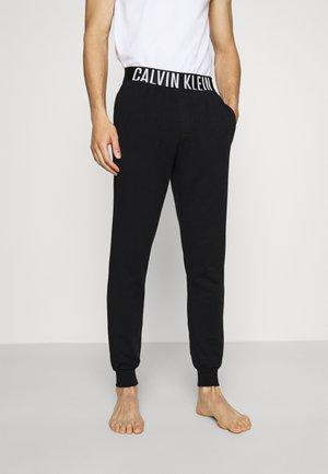 INTENSE POWER LOUNGE - Pyjama bottoms - black/white