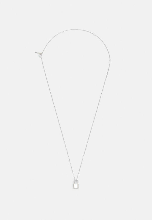CO BOND SILVER U - Necklace - silver-coloured