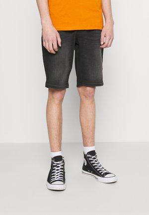 SEATLE - Jeansshorts - black used
