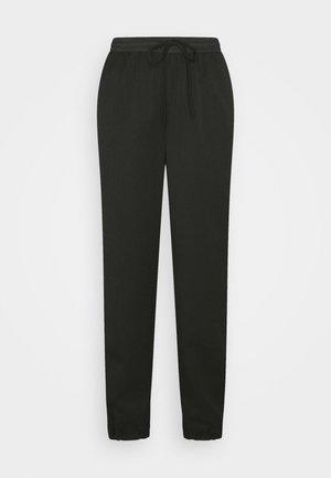 DULICE PANTS - Kalhoty - black