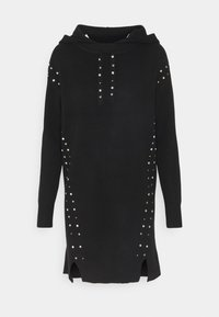 River Island - Strikkegenser - black - 0
