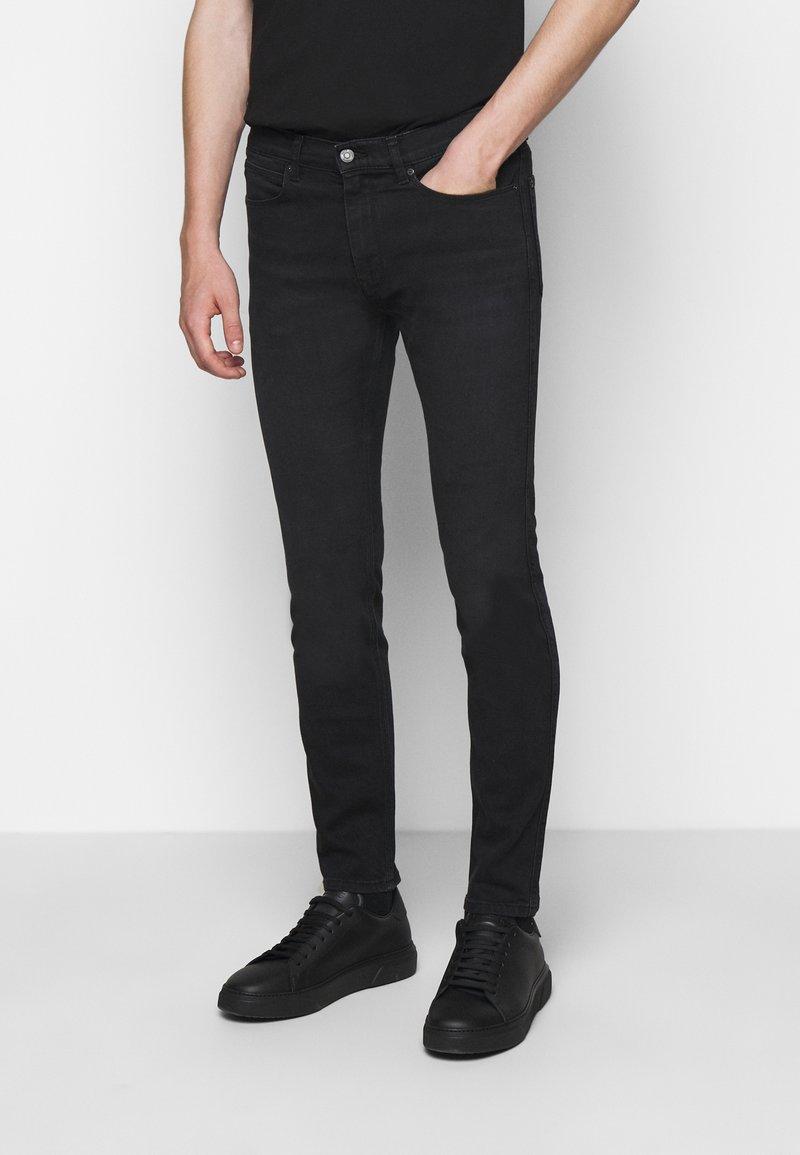 HUGO - Slim fit jeans - charcoal