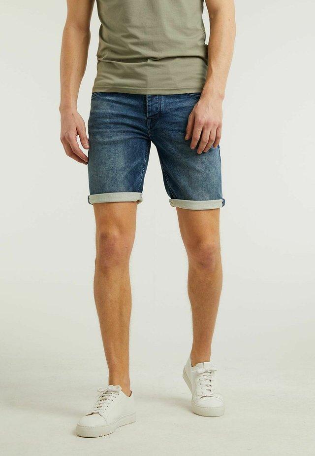EGO.S CORN - Denim shorts - blue
