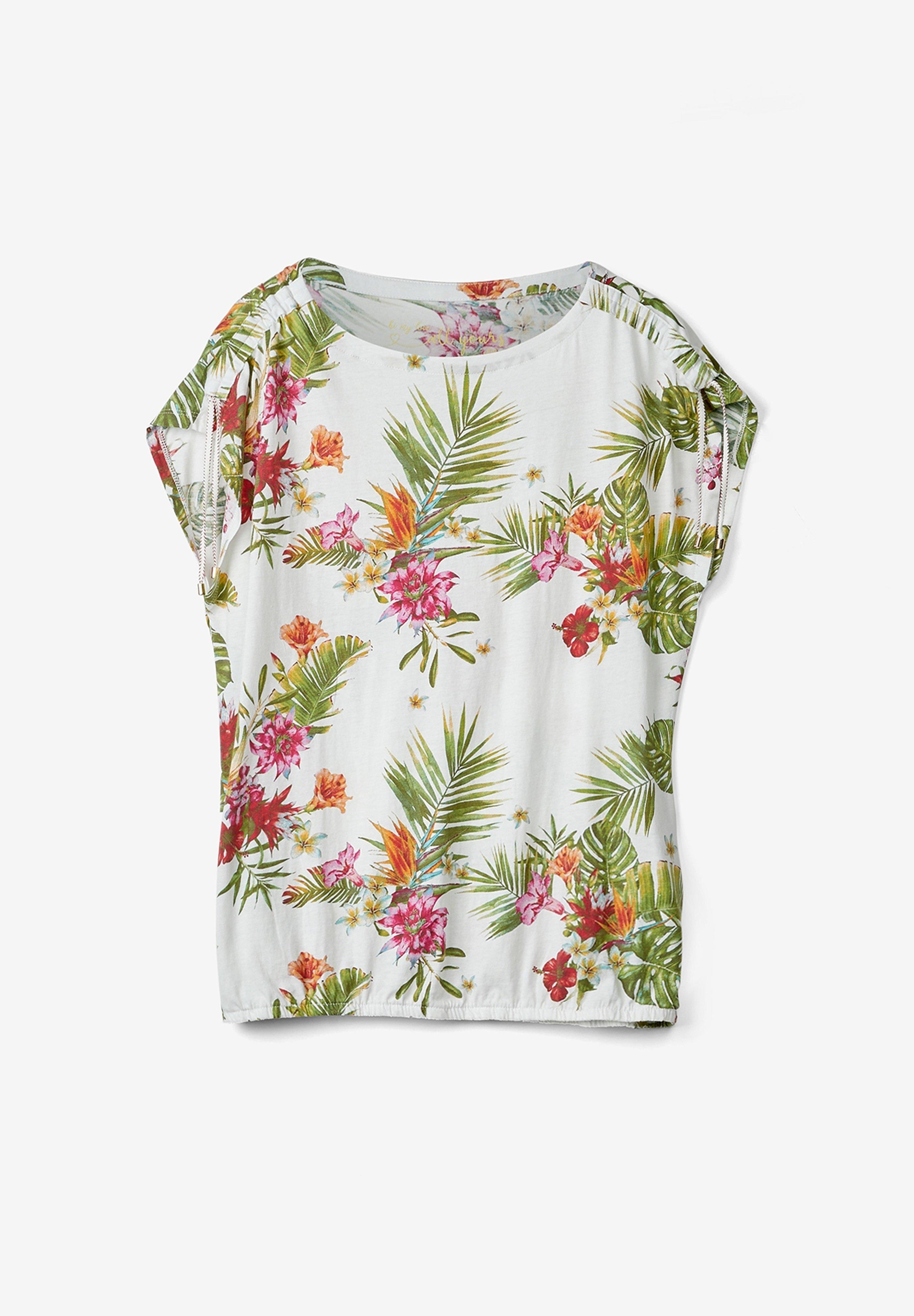 Damen O-SHAPE MIT RAFFUNG - Bluse