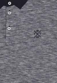 TOM TAILOR - FINE STRIPED WITH DETAILS - Polotričko - offwhite/navy - 2