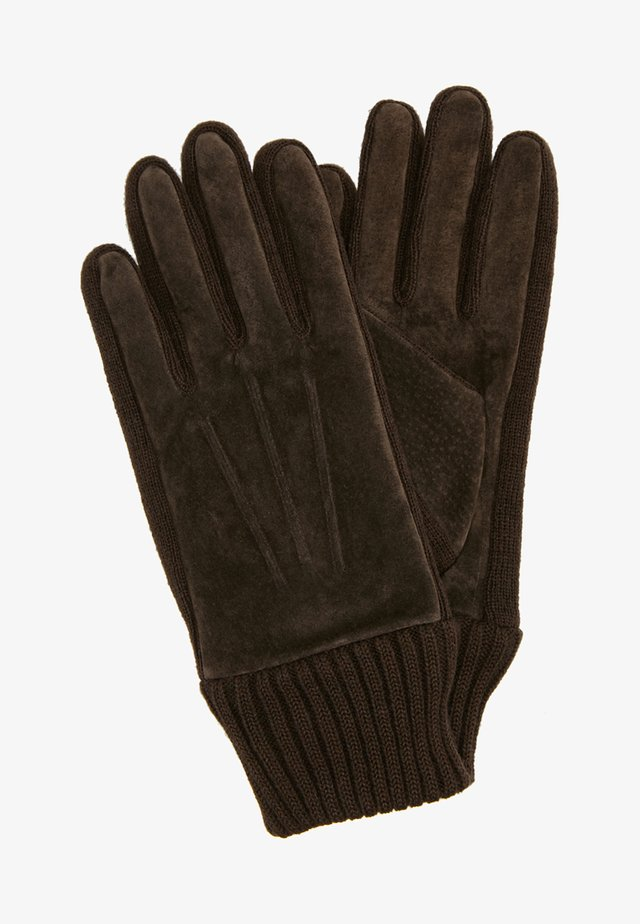 LIV - Gants - dark brown