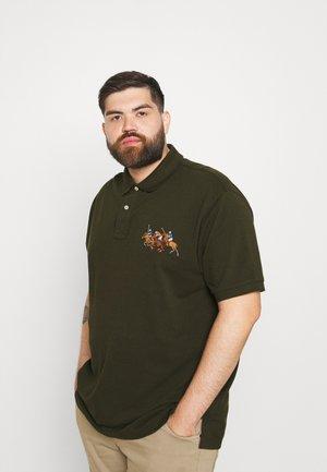 SHORT SLEEVE - Polo shirt - dark loden