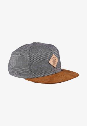 GLENCHECK - Cap - light grey