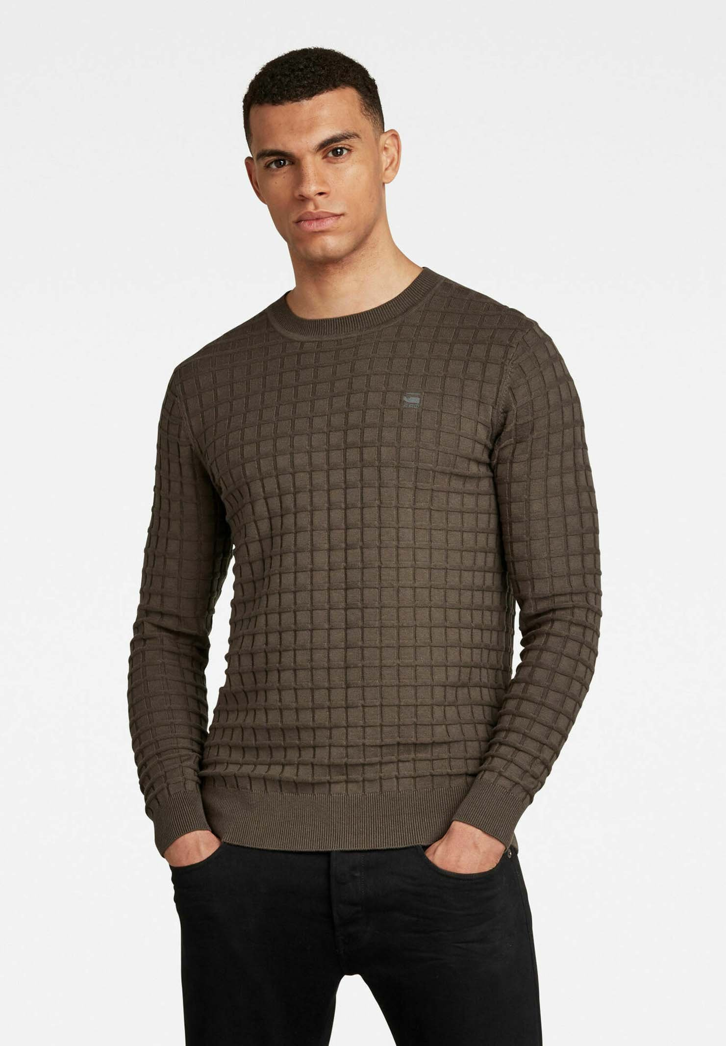 Homme CORE TABLE SWEATER - Pullover