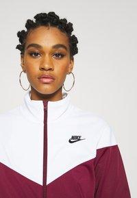 Nike Sportswear - TRACK SUIT SET - Tracksuit - dark beetroot/white - 5